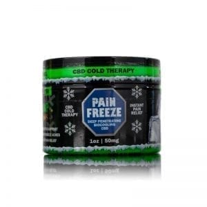 1oz CBD Pain Rub 50mg Hemp Bombs