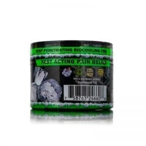1oz CBD Pain Rub Back View
