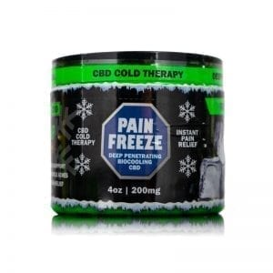 4oz 200mg CBD Pain Rub