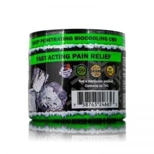 4oz 200mg CBD Pain Rub Back View