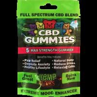 5 Count CBD Gummies