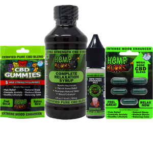 Hemp Bombs Sample CBD Bundle
