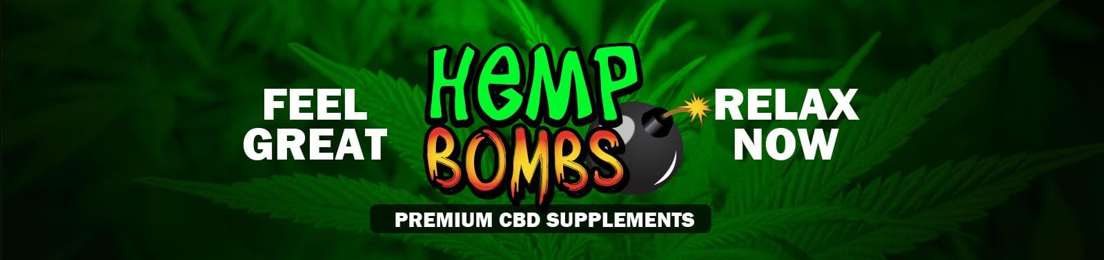 Hemp Bombs - Premium CBD Supplements including gummies, capsules, oil, vape, syrup and pain rub