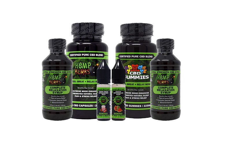 Hemp Bombs Standard CBD bundle