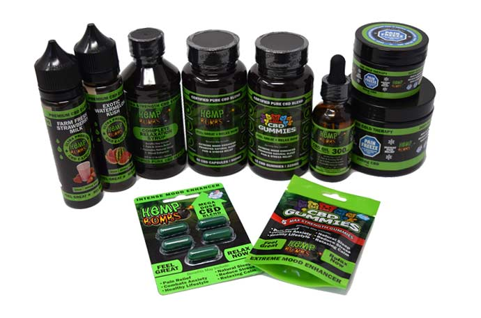 CBD Affiliate Products