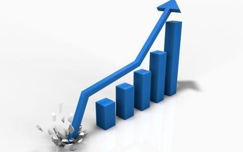 Distributors Blog showing upward trend
