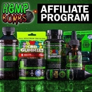 Hemp Bombs Affilaite program
