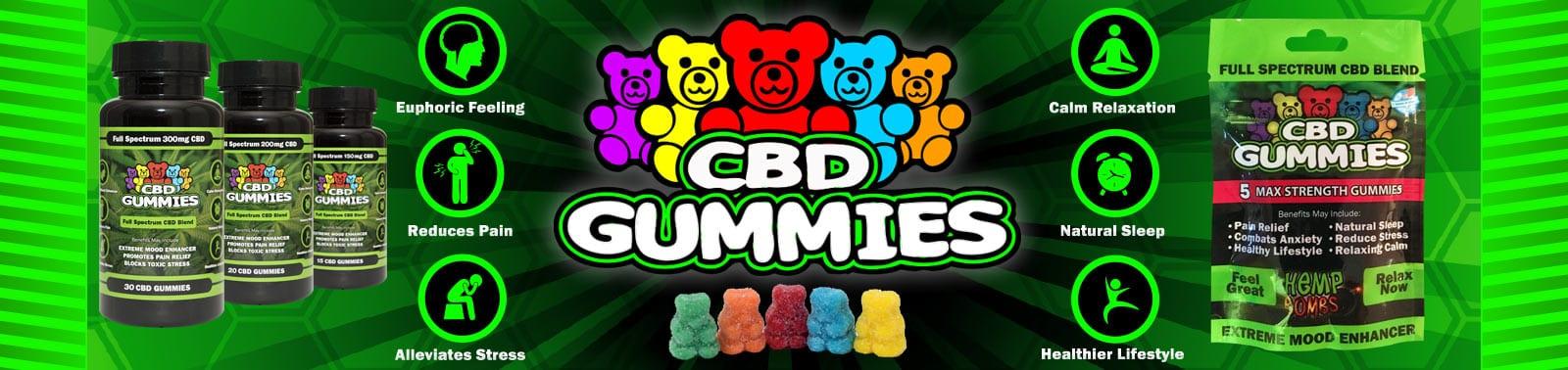 Hemp Bombs Premium CBD Gummies