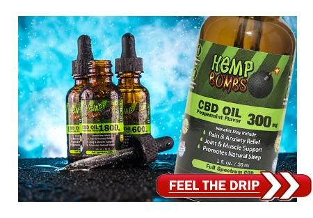 Hemp Bombs Premium CBD Products