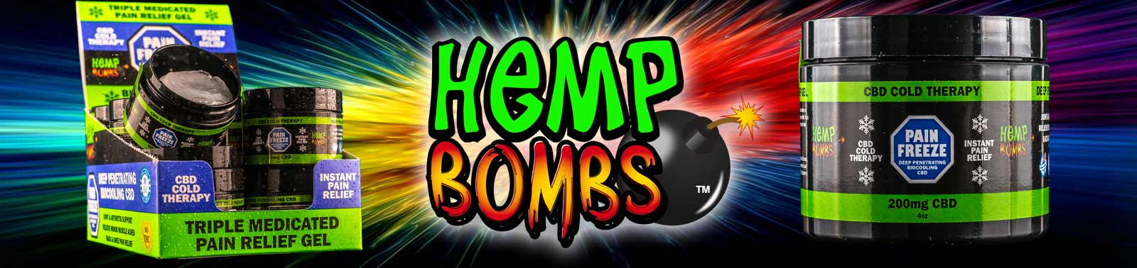 Hemp Bombs Pain Rub