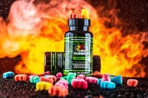 hemp bombs gummies fire