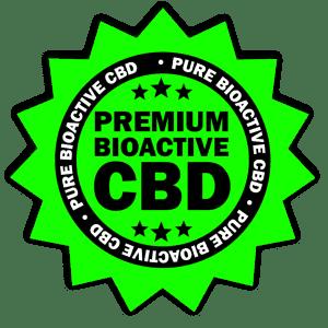 premium bioactive cbd seal