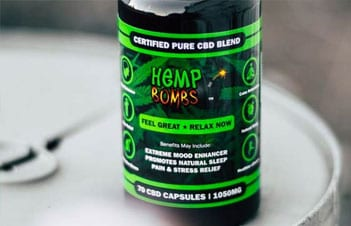 Higher Potency CBD Capsules Hemp Bombs