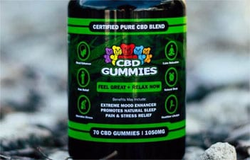 Higher Potency CBD Gummies Hemp Bombs