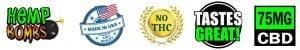 Hemp bombs cbd logos