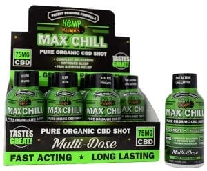 cbd max chill shot sleeve