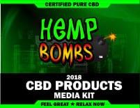 CBD product media kit
