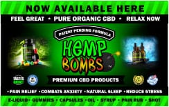 CBD product stickers