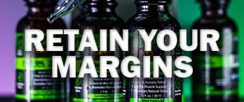 cbd oil background | retain your margins graphics