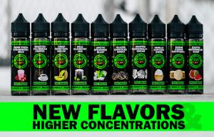 High Potency CBD E-Liquid various flavors