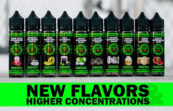 High Potency CBD E-Liquid