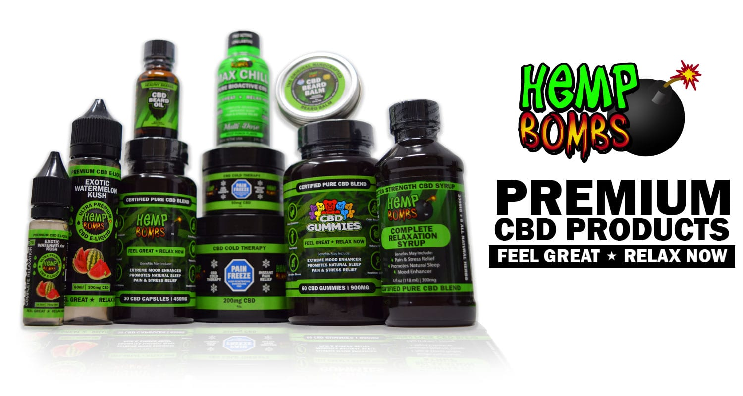 Premium CBD Products Hemp Bombs