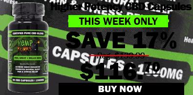 17% OFF Higher Potency CBD Capsules