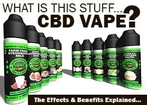 What is cbd vape?