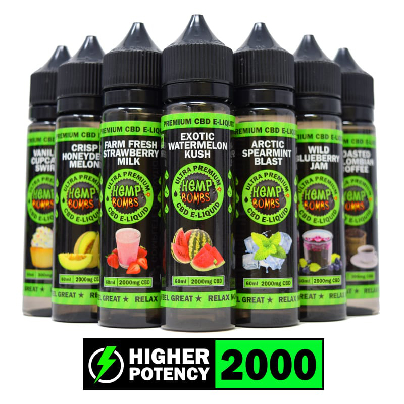 2000mg 60ml E-LIQUID