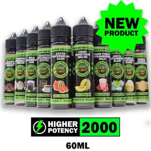 2000mg CBD E-Liquid Hemp Bombs