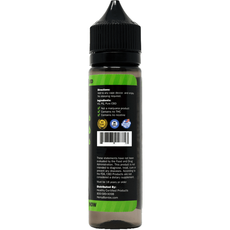 60ml 300mg CBD E-Liquid
