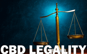 CBD Legality United States scale
