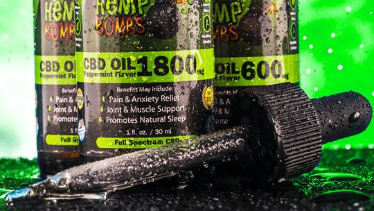 Choose your CBD Oil strength