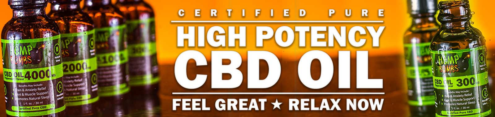 High Potency CBD Oil