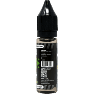250mg cbd e-liquid additive - back label
