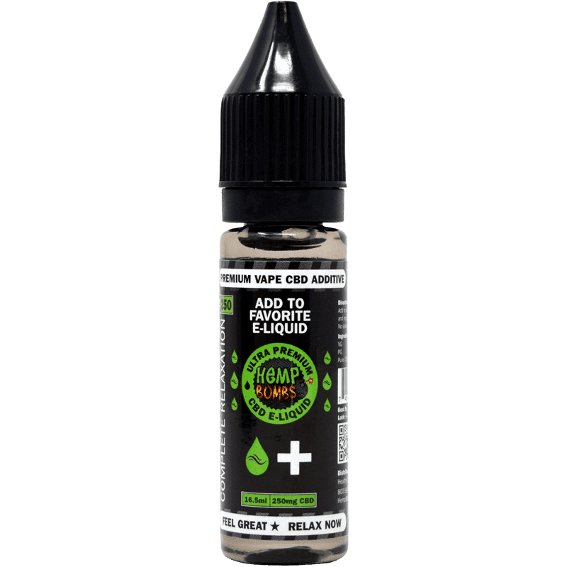 250mg cbd e-liquid additive from hemp bombs