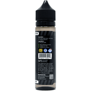 300mg CBD E-Liquid Additive - back label