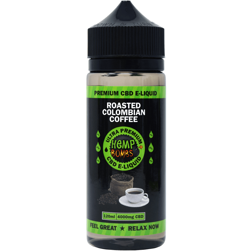 4000mg CBD E-Liquid Colombian Coffee