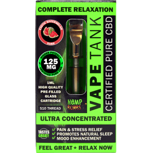 CBD Vape Tank Cartridge 125mg