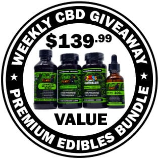 Weekly CBD Product Giveaway | CBD Contest