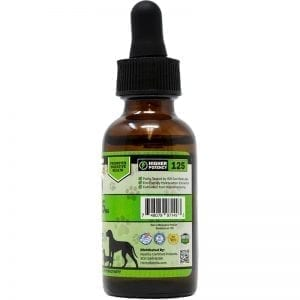 125mg Pet CBD Oil - Side View