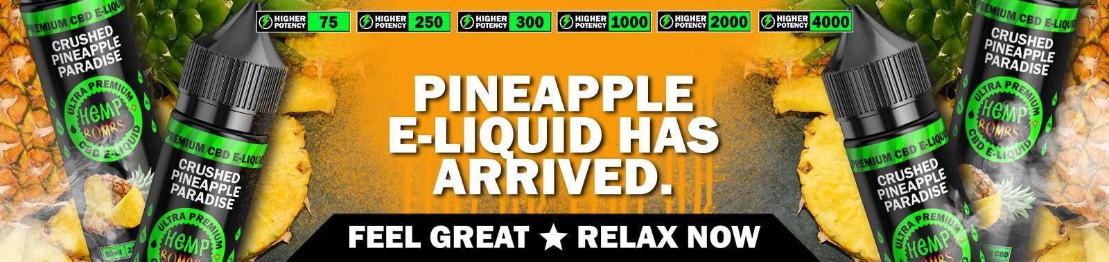 CBD Vape E-Liquid Pineapple