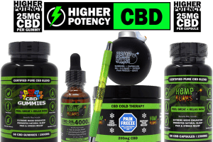 hemp bombs high potency cbd including gummies, oil, pain gel, capsules, pen and stress ball