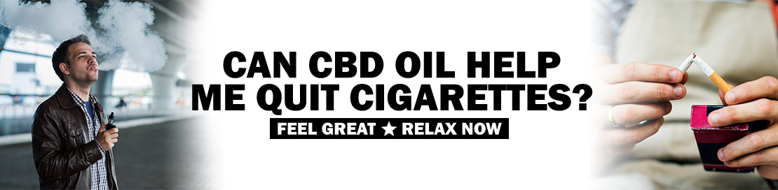 CBD Vape Oil and Quitting Cigarettes
