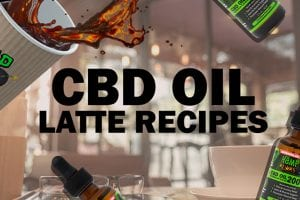 coffee and cbd oil, cbd oil latte recipes