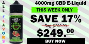 4000mg cbd e-liquid - save 17% graphic