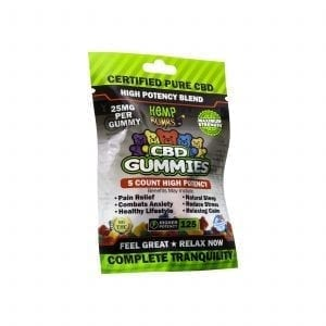 cbd gummies high potency 25mg