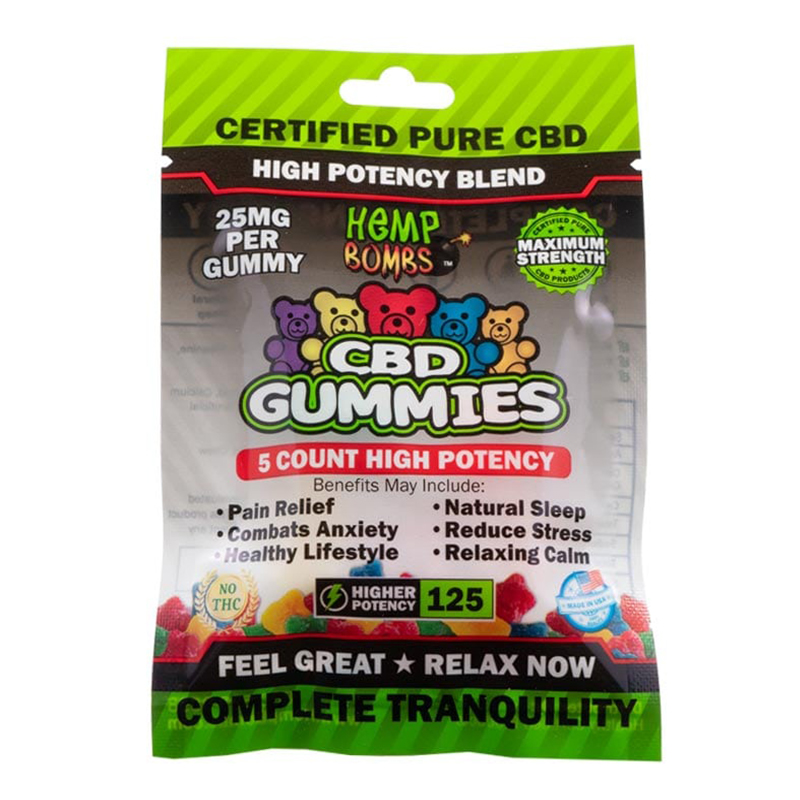 5-count hp gummies
