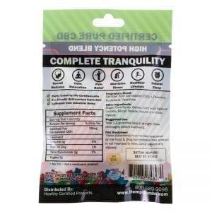 high potency cbd gummies back