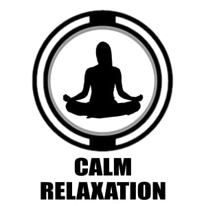 Calm Relaxation | silhouette person doing yoga icon